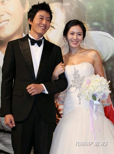 Son Ye jin and Kim Ju-Hyuk from the sets of 'My Wife is Married'